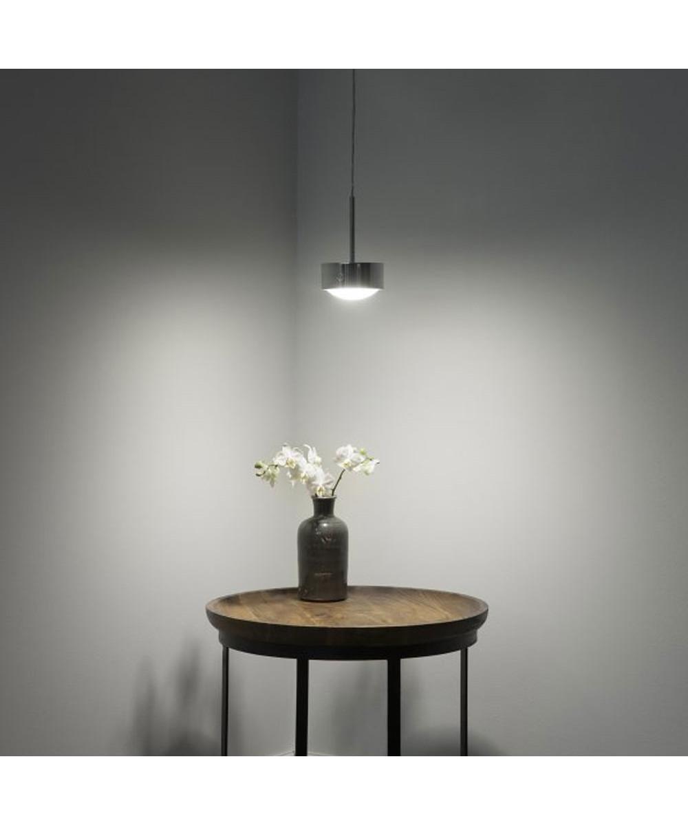 puk maxx long one led pendel mat krom top light. Black Bedroom Furniture Sets. Home Design Ideas