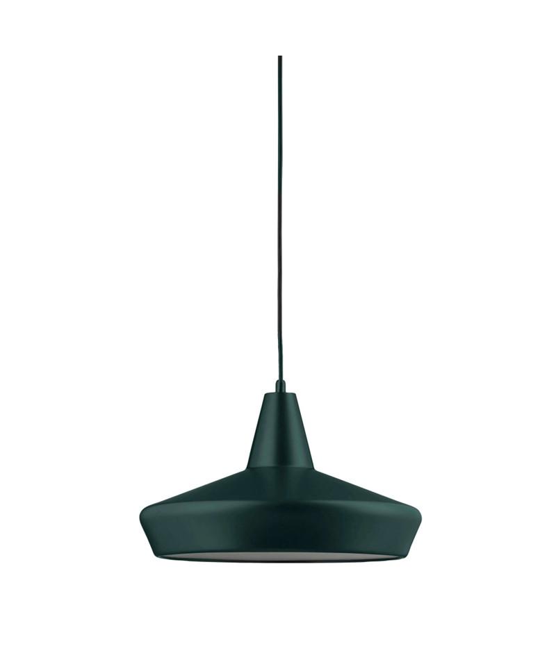 work pendelleuchte dunkel gr n watt a lamp. Black Bedroom Furniture Sets. Home Design Ideas