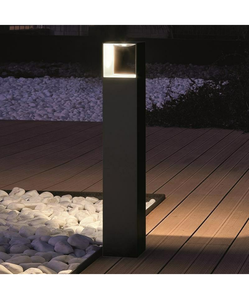 copenhagen bollard au enlampe schwarz aros design. Black Bedroom Furniture Sets. Home Design Ideas