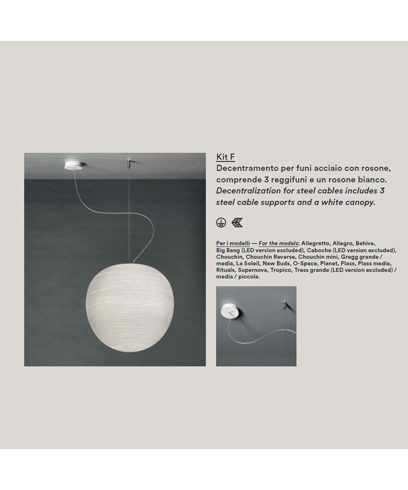 Image of   Baldakin Kit F Hvid - Foscarini