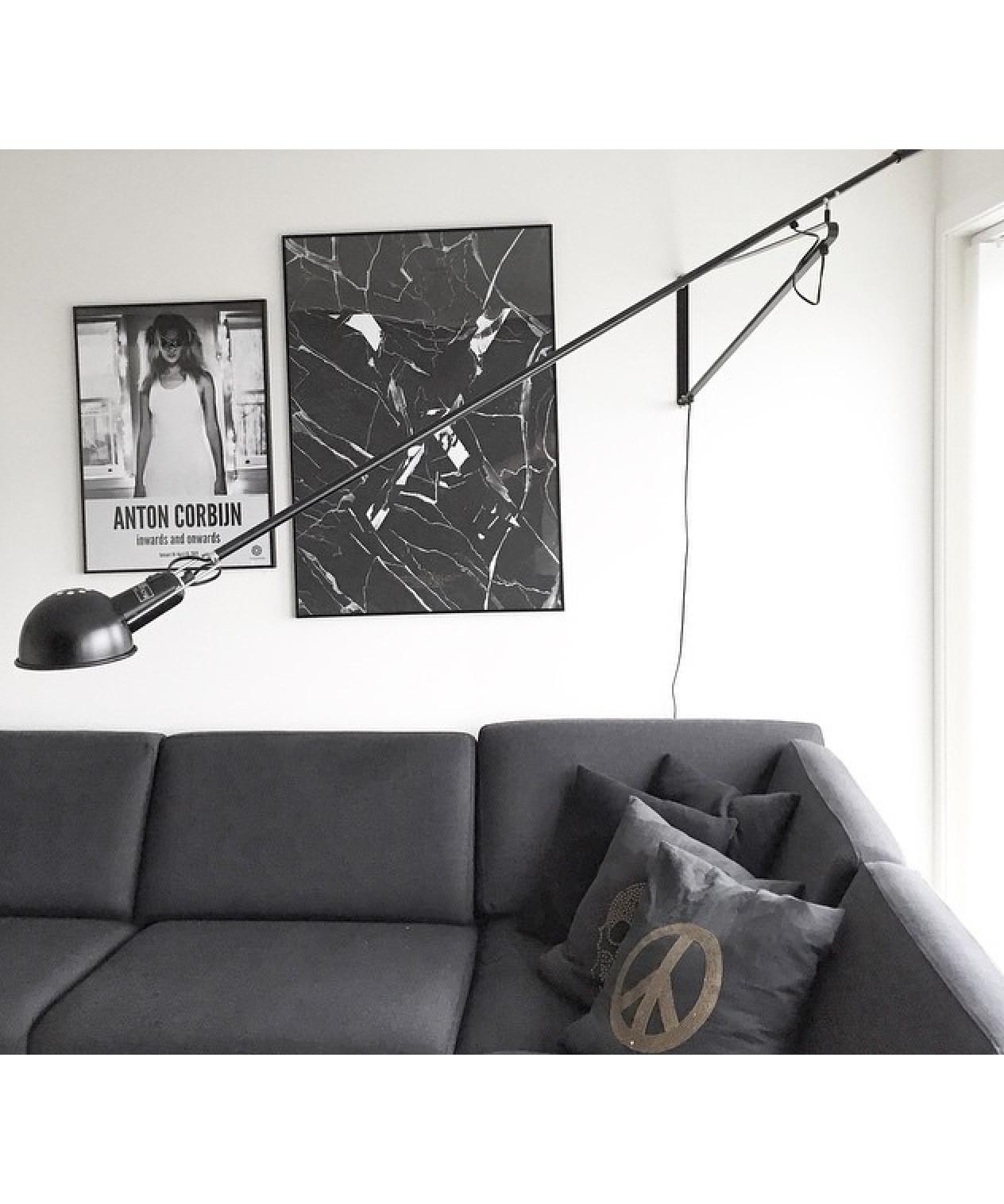 265 v gglampa svart flos. Black Bedroom Furniture Sets. Home Design Ideas