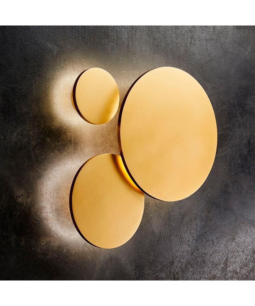 Soho W3 LED VegglampeØ30 Gull - LIGHT-POINT