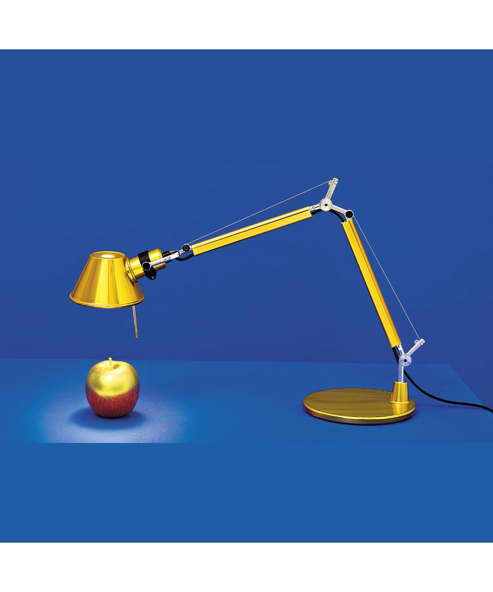 Tolomeo MICRO Bordlampe Guld - Artemide