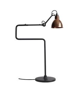 317 tischleuchte schwarz raw kupfer wei lampe gras. Black Bedroom Furniture Sets. Home Design Ideas