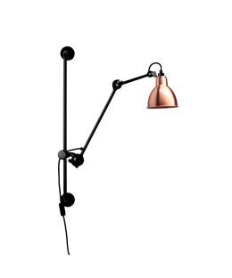 210 v glampe sort kobber hvid lampe gras. Black Bedroom Furniture Sets. Home Design Ideas