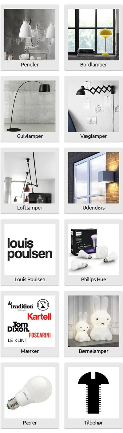 Lamper Kob designer lamper online hos Lampemest